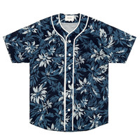 Nisus Hotel Floral Baseball Jersey