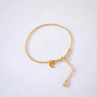 To The Moon Bracelet