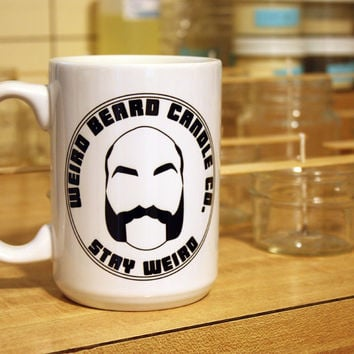 Weird Beard Candle Co. logo mug - 15oz