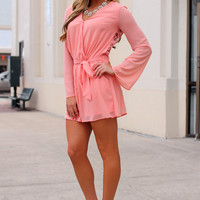 Let Me Love You Romper