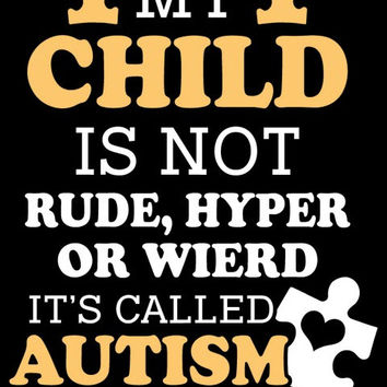 """""""It's Called Autism"""" Vinyl Decal Sticker (5"""" tall)"""