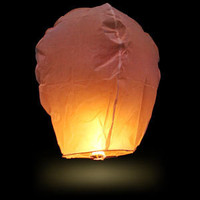 ThinkGeek :: Sky Lanterns Mini Hot Air Balloon