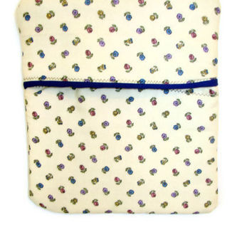 Microwave Potato Bag - Country Floral and Blue