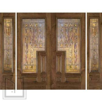 jeld-wen 200 Walnut Doors and Sidelights Clear Finish