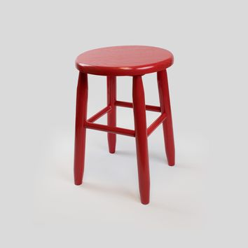 "Dixie Seating Co. Garland Wood 18"" High Round Stool No. 1518 - Ships within  2 to 4 Weeks"
