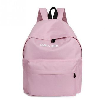Women Candy Color Backpack New Fashion Casual PU Leather ladies feminine backpack 4 color  mini backpack