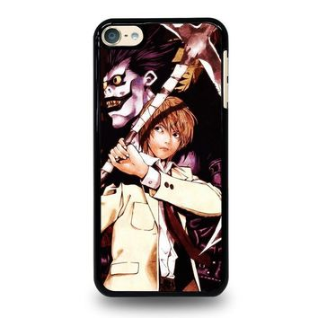 death note ryuk and light ipod touch 6 case cover  number 2