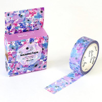 Watercolor Flower Washi Tape (Wanelo Special)