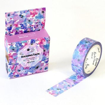 The Flowers of Imagination Decorative Washi Tape DIY Scrapbooking Masking Tape School Office Supply Escolar Papelaria