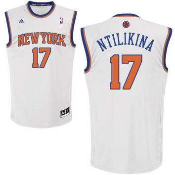 adidas New York Knicks Custom Replica Home Jersey