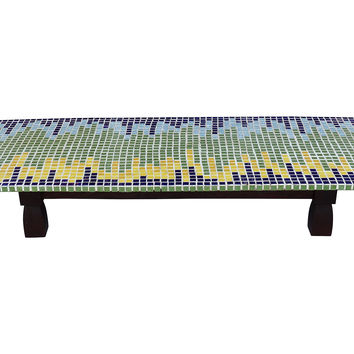 Midcentury Tile-Top Coffee  Table