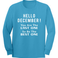Hello December You Are The Last One