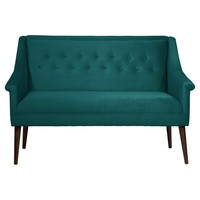 Button Tufted Settee - Skyline Furniture®