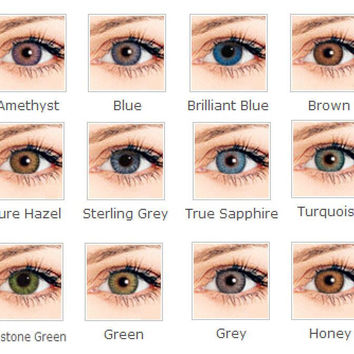 On sale 2 pairs of contacts for $30.00 3 tone 2017