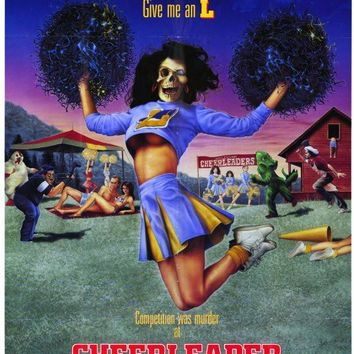 Cheerleader Camp 11x17 Movie Poster (1987)