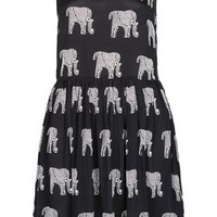 Elephant Ladder Back Dress - Dresses  - Clothing