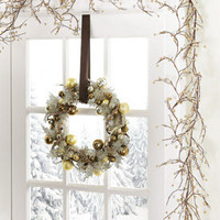 Elegant Gold And Silver Rustic Berry  Twig Garland from Collections Etc.