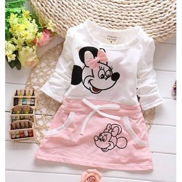 Baby girls dress New Fashion cotton dresses