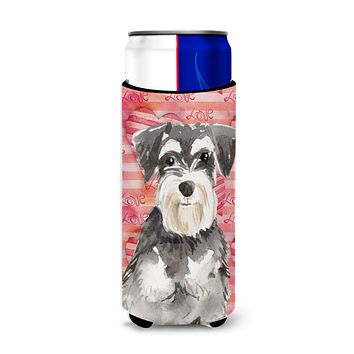 Love a Schnauzer #2 Michelob Ultra Hugger for slim cans CK1759MUK
