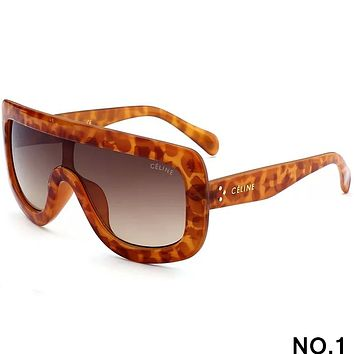 CELINE 2018 new men and women fashion trend high quality sunglasses F-8090-YJ NO.1