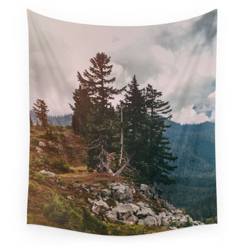 Society6 Northwest Forest Wall Tapestry