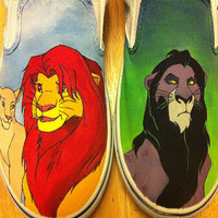 Lion King Custom Shoes