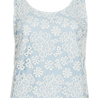 Scallop Lace Vest - New In - Topshop USA