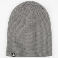 Volcom Loscoe Beanie Charcoal One Size For Men 24848611001
