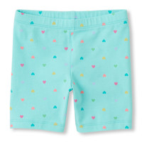 Toddler Girls Printed Bike Shorts | The Children's Place