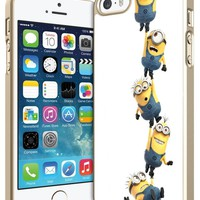 Despicable Me Minions for Iphone 4 4s 5 5s 5c 6 6plus Case (iphone 5c white)