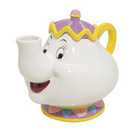 Disney Beauty And The Beast Mrs. Potts Ceramic Teapot