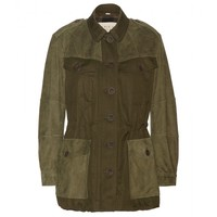 Spearsdale cotton and linen-blend jacket