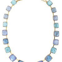 Kate Spade Madison Ave. Collection Swan Dive Collar Necklace Blue
