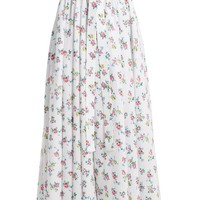 Evelyn floral-print linen maxi skirt | Emilia Wickstead | MATCHESFASHION.COM US