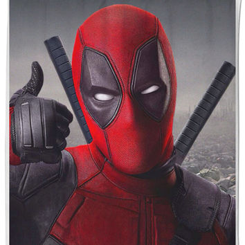 Dead Pool shower Curtains