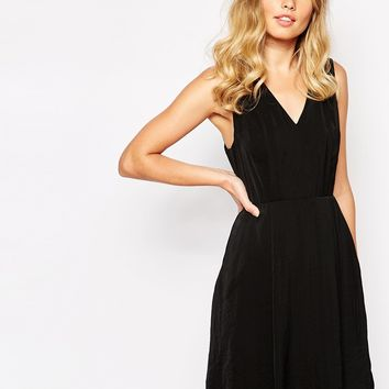Whistles Adelaide V Neck Dress