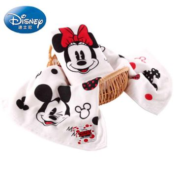 Disney Minnie Mickey gauze large towel 100% Cotton baby face towel 1pcs Dropship
