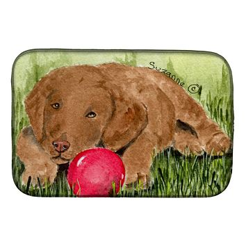 Curly Coated Retriever Dish Drying Mat SS8684DDM