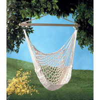 Cool Coffee Hammock Chair Home Top Quality Gift + Free Shipping