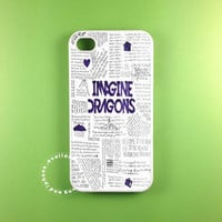 imagine dragons cover  fit on iphone 5S iphone 5C iphone 5 iphone 4 S samsung galaxy 3 and samsung galaxy s4