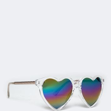 Hearts in Her Eyes Sunglasses