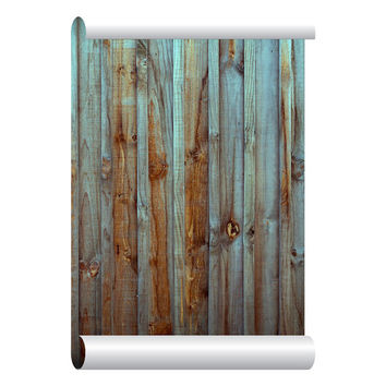 Shop Wood Self Adhesive Wallpaper On Wanelo