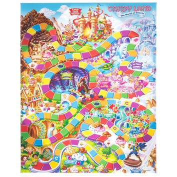 Candy Land Game Board Canvas Art | Hobby Lobby | 5701503