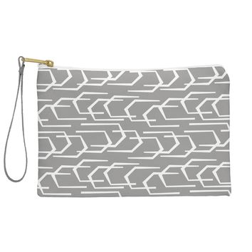 Heather Dutton Going Places Slate Pouch