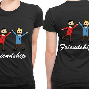 South Park Terrence Friendship 2 Sided Womens T Shirt