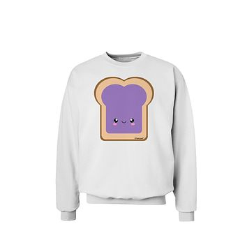 Cute Matching Design - PB and J - Jelly Sweatshirt by TooLoud