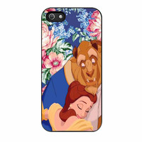Beauty And The Beast Floral Vintage iPhone 5 Case