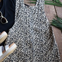 On The Prowl Overall Short, Black/Tan