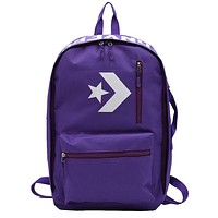 Converse simple sports and leisure backpack Purple