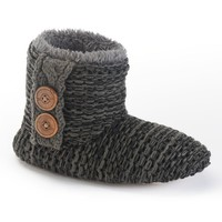 Comfy Cheree Chunky Knit Bootie Women's Slippers